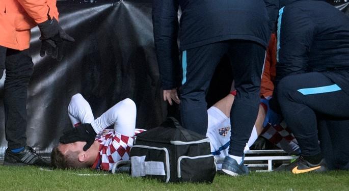克罗地亚国家队官方消息:皮亚察左膝十字韧带撕裂