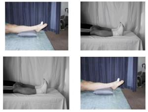 踝泵练习图示