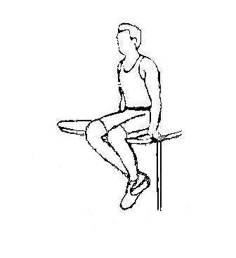十字韧带重建术后康复之弯腿(屈膝)练习-前叉之家