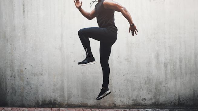 纯ACL重建丨术后恢复期6-12周 - 单腿跳跃训练